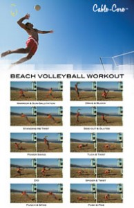 Beach Volleyball Workout